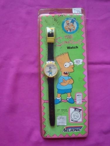 reloj vintage the simpsons - watch nelsonic