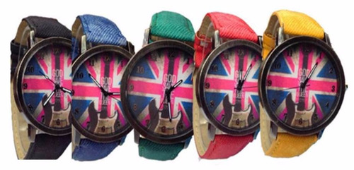 reloj vintage/deportivo bandera inglaterra