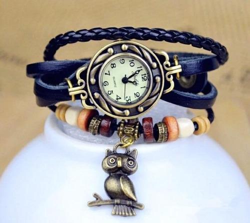 reloj vintaje por mayor  x 20 unidades surtidos de colores