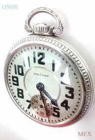 d454415cb Reloj Bolsillo Waltham Antiguo - Reloj de Bolsillo Antiguo en Mercado Libre  México