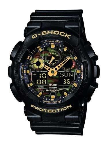 reloj watch casio g-shock ga-100cf-1a9er negro