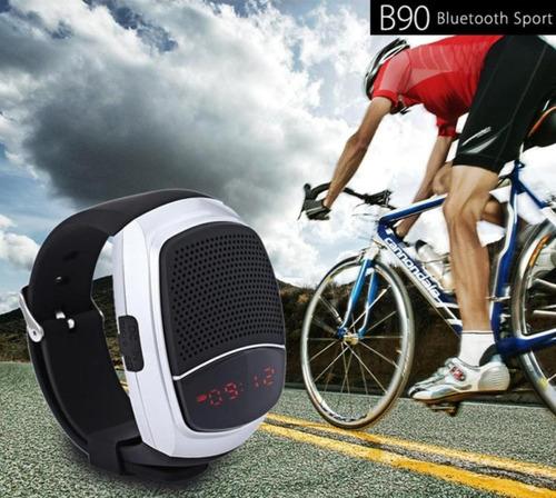 reloj watch inteligente deportivo bluetooth musica b90