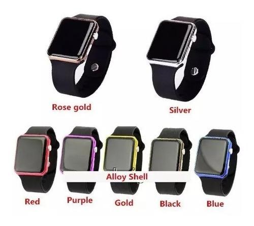 reloj watch led sport unisex varios colores moda para niños
