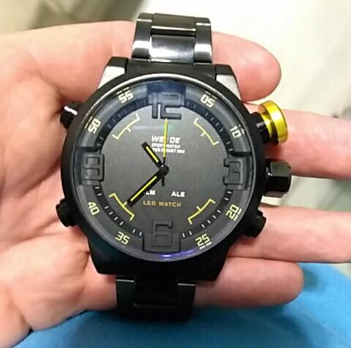 reloj weide estilo militar original - envió gratis -