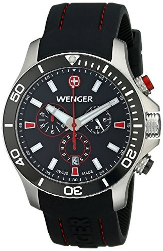 reloj wenger  negro u58