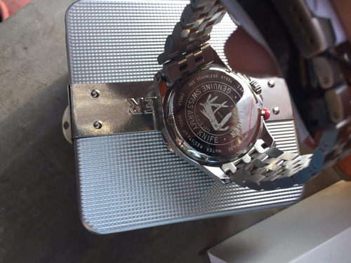 reloj wenger swiss army mod 77059 43 mm entrega inmediata