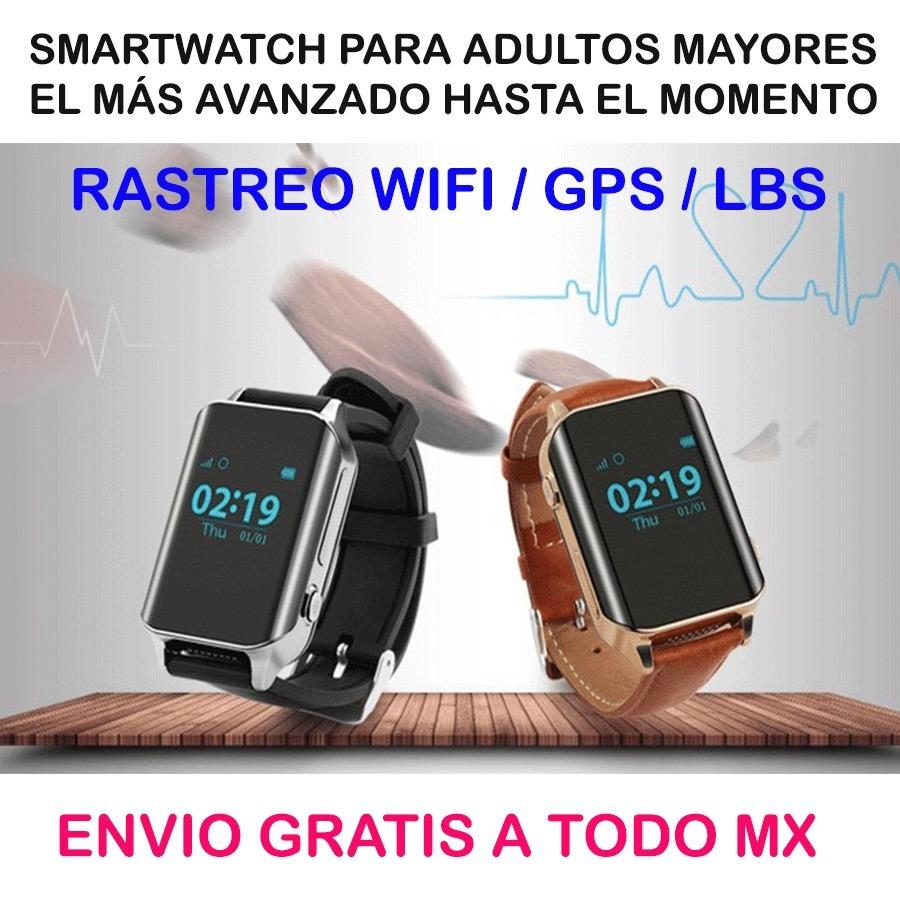 Reloj Wifi Gps Lbs Adultos Mayores Rastreador Envío Gratis ...