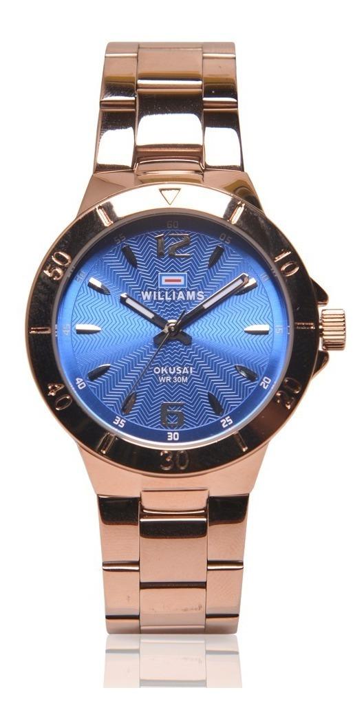 Inoxidable Reloj Mujer Acero Williams Sumergible Wid0051 QErdBoexCW