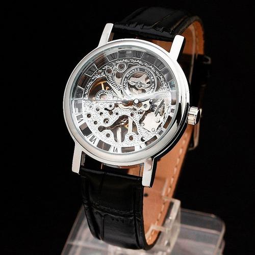 reloj winner skeleton corazón abierto 100 % original
