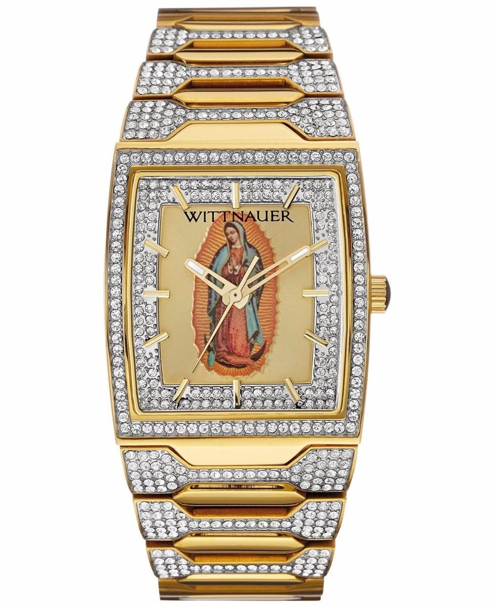 De 33 Nuestra Mm Gpe Para Sra Hombre Wittnauer Dorado Reloj 7yY6fgb