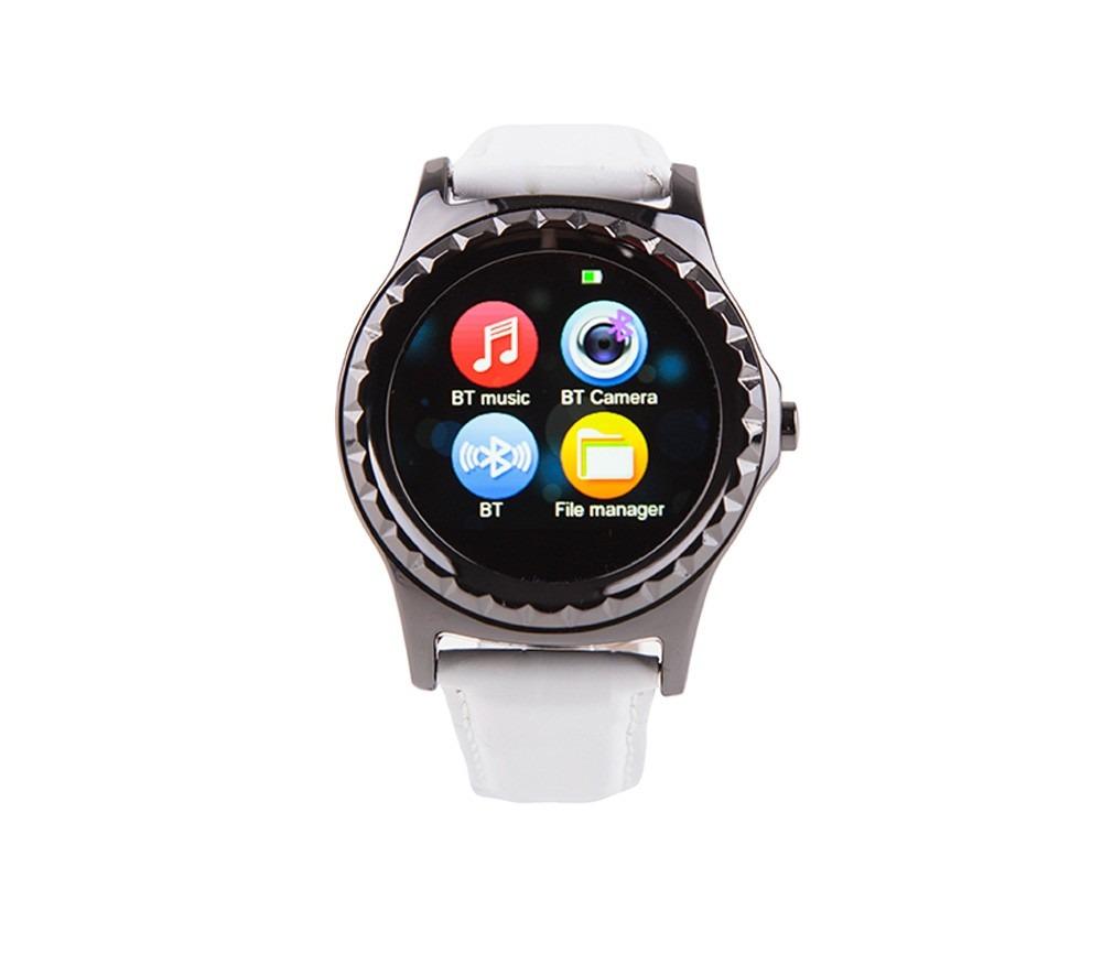 Correa Con Reloj Woo Negro Smartwatch Nuevo Blanco Y SpqUzMV
