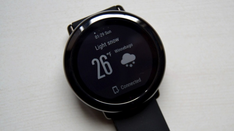 en venta 68b39 624b8 Reloj Xiaomi Amazfit Pace A1612 Gps Running Watch En Español