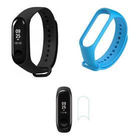 Reloj Xiaomi Mi Band 3 Smartwatch + Film + Banda Extra