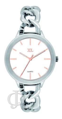 reloj xl extra large dama acero moda xl103-xl114-xl119