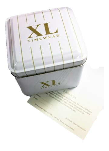 reloj xl extra large dama malla tejida colores xl803/818/820