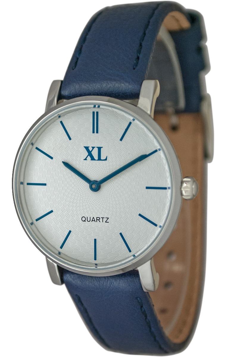 cb157886f2e6 reloj xl extra large moda cuero dama xl 642 azul. Cargando zoom.