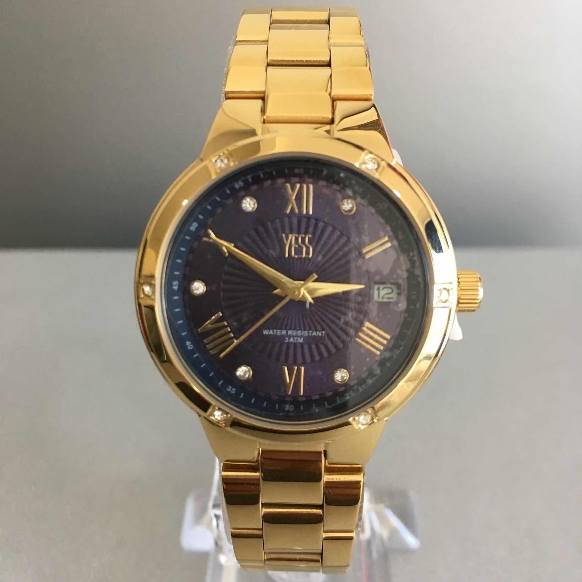 Reloj Yess Dama Dorado Original -   224.000 en Mercado Libre 0e1296514835