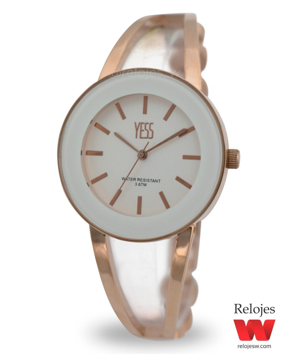 Reloj Yess Dama Plateado Ref. 001435d Or Original -   70.000 en ... c52b5ecba310