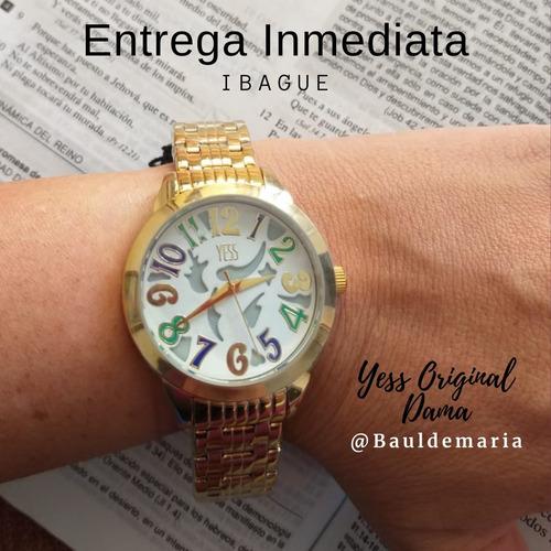 reloj yess para damas original