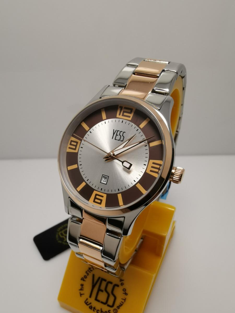 8cc748539af9 Reloj Yess R1554l-12 Plateado Oro Rosa Original -   160.000 en ...