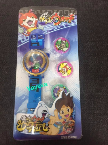 reloj yokai watch 3 medallas