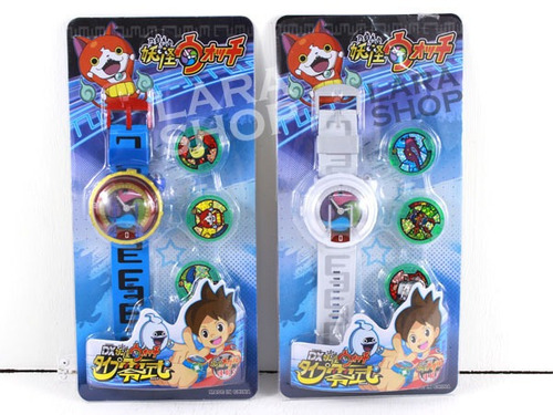 reloj yokai watch 3 medallas  yo-kai