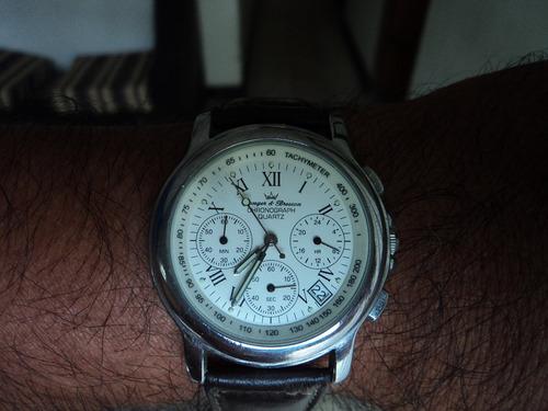 reloj yonger & bresson cronometro