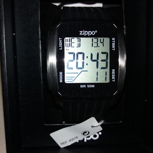 reloj zippo digital sports con cronografo