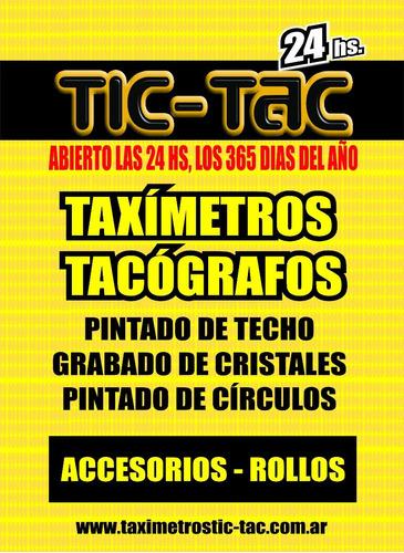 relojeria de taxis - taximetros - tacografos rollos de papel