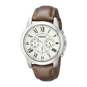 fa1958eae6ce Reloj Fossil Hombre Grant Twist Manilla Cuero Marron Me1114 - Relojes en  Mercado Libre Colombia