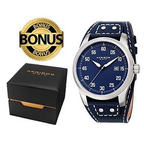 caa37ea74d8f Akribos Xxiv S Reloj Clasico De La Serie Ak1024 Carcasa Con