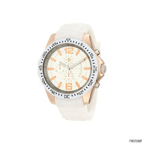 Reloj Casual Blanco Unlisted By Kenneth Cole Street Ros Cole