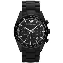 Reloj Emporio Armani Ar5981 Cronógrafo Fechero Acero Nuevo