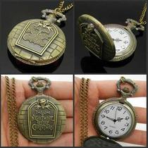 Reloj De Bolsillo Collar El Extraño Mundo De Jack Tim Burton