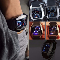 Reloj Deportivo Led Velocimetro Rpm Turbo
