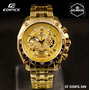 Reloj Casio Edifice Ef-550fg-5av Dorado - 100% Original