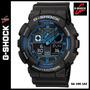 Reloj Casio G-shock Ga-100-1a2 - Nuevo Y Original En Caja