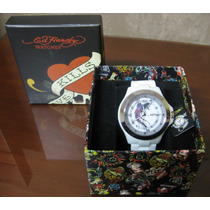 Moderno Reloj Ed Hardy Para Jovenes De Remate