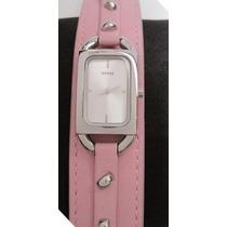 Lindo Reloj Marca Guess Para Mujer Cod. G56020l