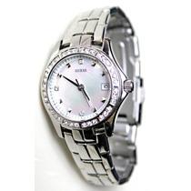 Reloj Guess Waterpro Con Cristales Correa 18 Cms