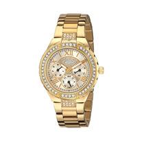 Reloj Original Guess Para Mujer Sparkling Tono Dorado