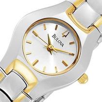 Reloj Bulova Original Para Mujeres 98t84
