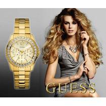 Reloj Guess U12005l1 Gold Dama - 100% Nuevo Y Original
