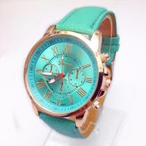 Reloj De Mujer Elegante Fashion Varios 6 Colores A Escojer