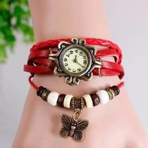 Reloj Pulsera Mujer Moda Vintage Por Mayor !!!