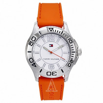 Reloj Tommy Hilfiger Sport Hombre Correa Naranja 1790951
