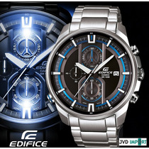 Reloj Casio Edifice Illuminator Efr-533d-1av - 100% Original