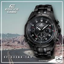 Reloj Casio Edifice Ef-535bk - 100% Nuevo Y Original