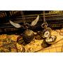 Mini Reloj Collar Snitch Steampunk Victoriano Harry Potter