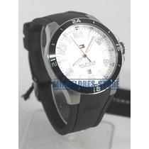 Reloj Tommy Hilfiger 1790863 Gris Con Fecha Para Caballero